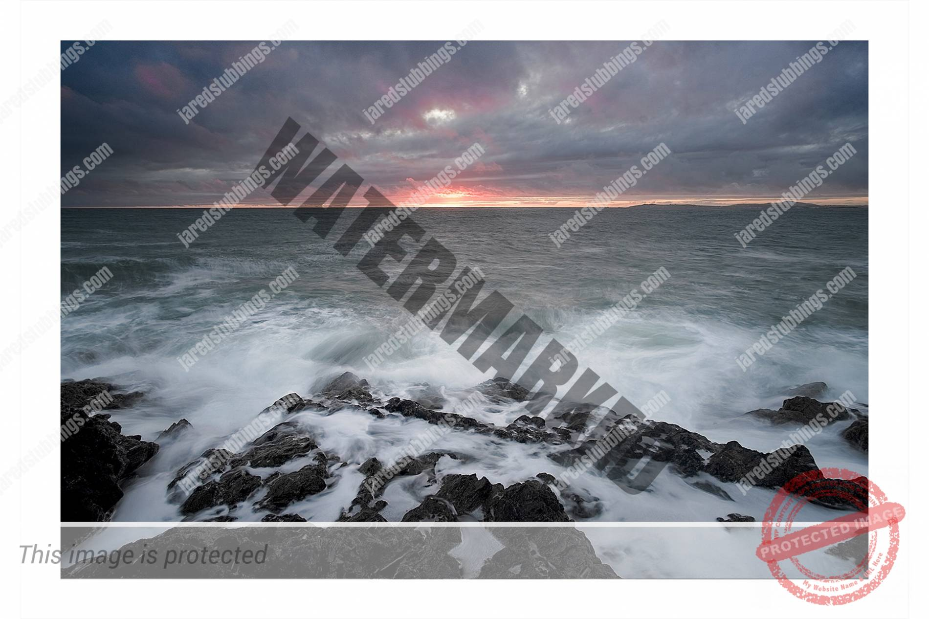 Image of stormy sunset by Jared Stubbings